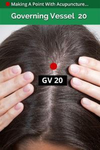 gv 20 acupoint